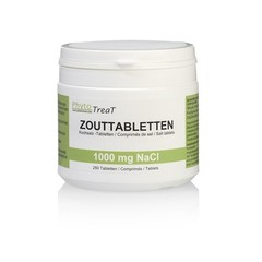 Phytotreat Zouttabletten 1000 mg NACL (250 tabletten)