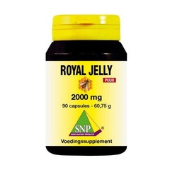 SNP Royal jelly 2000 mg puur (90 capsules)