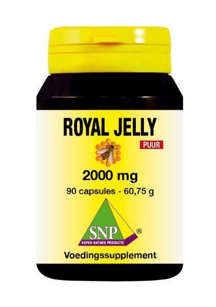 SNP SNP Royal jelly 2000 mg puur (90 capsules)