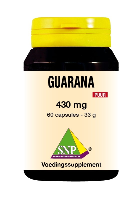 SNP SNP Guarana 430 mg puur (60 capsules)
