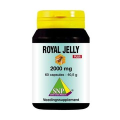 SNP Royal jelly 2000 mg puur (60 capsules)
