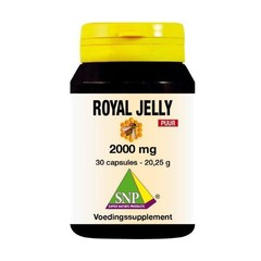SNP Royal jelly 2000 mg puur (30 capsules)