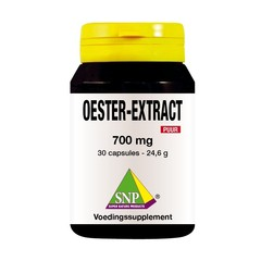 SNP Oester extract 700 mg puur (30 capsules)