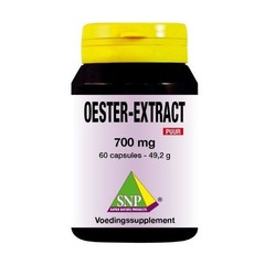 SNP Oester extract 700 mg puur (60 capsules)