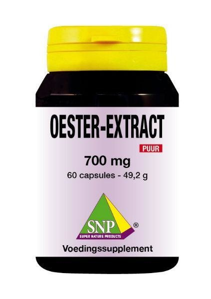 SNP SNP Oester extract 700 mg puur (60 capsules)