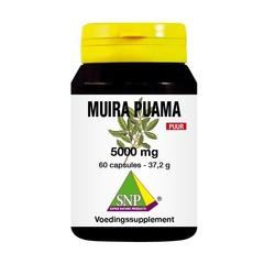 SNP Muira puama 5000 mg puur (60 capsules)