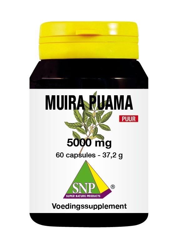 SNP SNP Muira puama 5000 mg puur (60 capsules)
