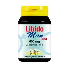 NHP Libido man 600 mg puur (20 capsules)