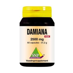 SNP Damiana extract 2500 mg puur (60 capsules)