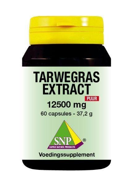 SNP SNP Tarwegras extract 12500 mg puur (60 capsules)