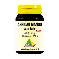 SNP African mango extract 5000 mg puur (60 capsules)