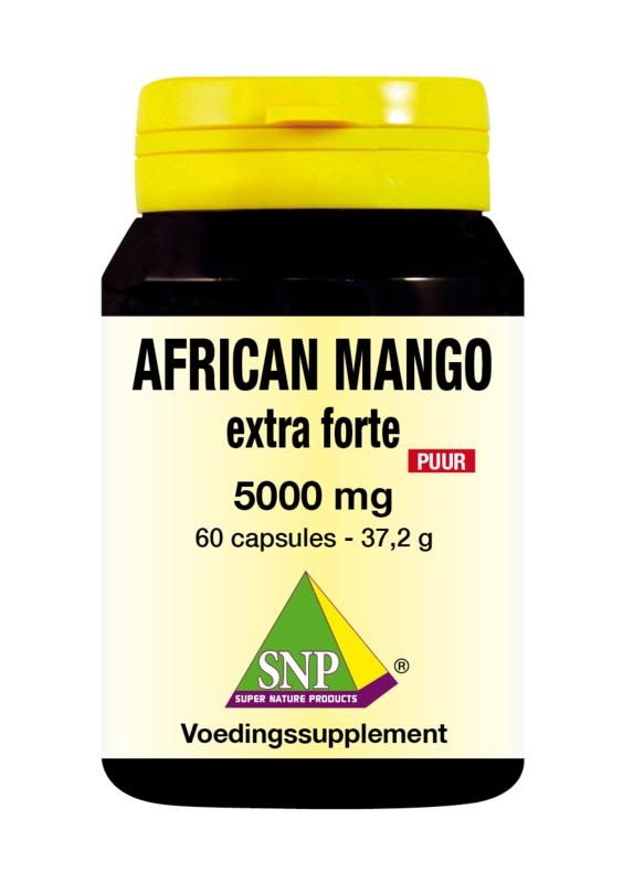 SNP SNP African mango extract 5000 mg puur (60 capsules)
