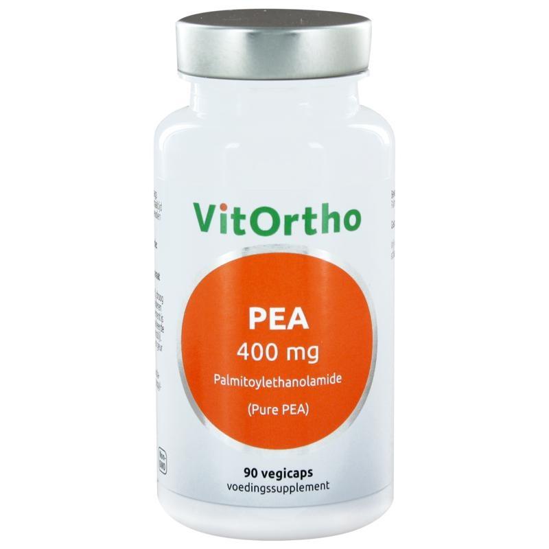 VitOrtho Vitortho PEA 400 mg palmitoylethanolamide (90 vcaps)