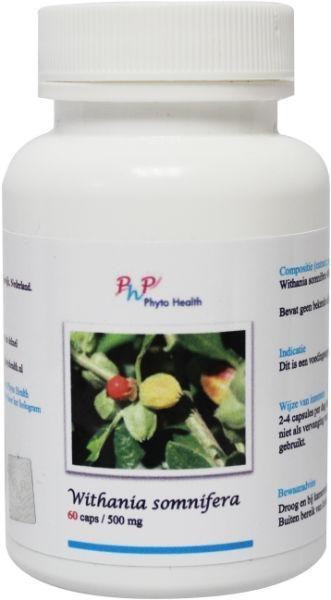 Phyto Health Withania somnifera (60 capsules)