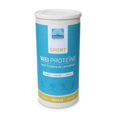 Mattisson Sport wei whey proteine concentraat vanille (450 gram)