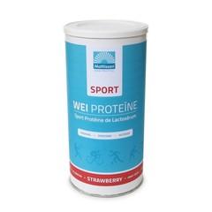 Mattisson Sport wei whey proteine concentraat aardbei (450 gram)