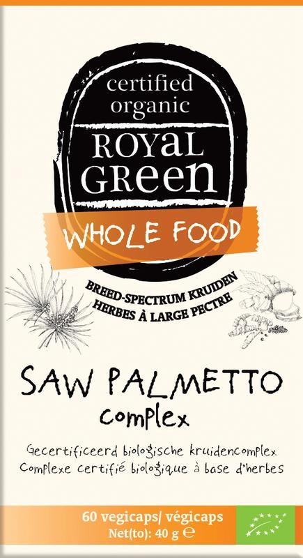 Royal Green Saw palmetto complex (60 vcaps)