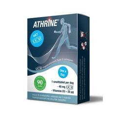 Athrine Smelttablet UC-11 + vitamine D3 (90 tabletten)