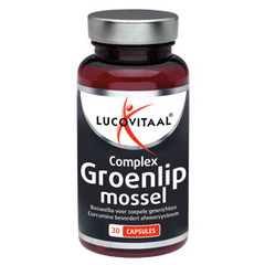 Lucovitaal Groenlipmossel complex (30 capsules)