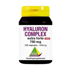 SNP Hyaluron complex 750 mg puur (120 capsules)