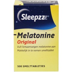 Sleepzz Melatonine original 100 mcg (500 tabletten)