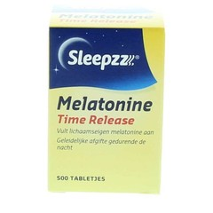 Sleepzz Melatonine time release 0,1 mg (500 tabletten)