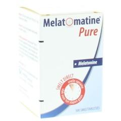 Vemedia Melatomatine pure melatonine 0,1 mg (500 tabletten)