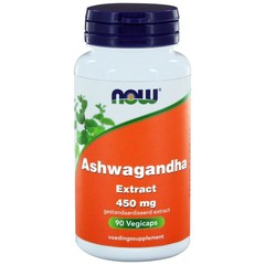NOW Ashwagandha extract 450 mg (90 vcaps)