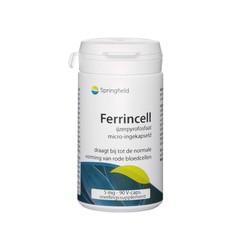 Springfield Ferrincell 44 mg - ijzer pyrofosfaat 5 mg (90 vcaps)