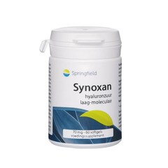 Springfield Synoxan hyaluronzuur low-molec 70 mg (60 softgels)