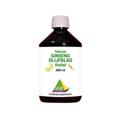 SNP Ginseng olijfblad tonicum (500 ml)