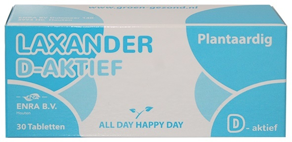 Alldayhappyday Alldayhappyday Laxander d-aktief (30 tabletten)