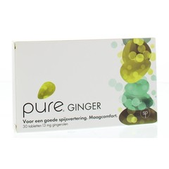 Pure ginger 13 mg ginerolen (30 tabletten)