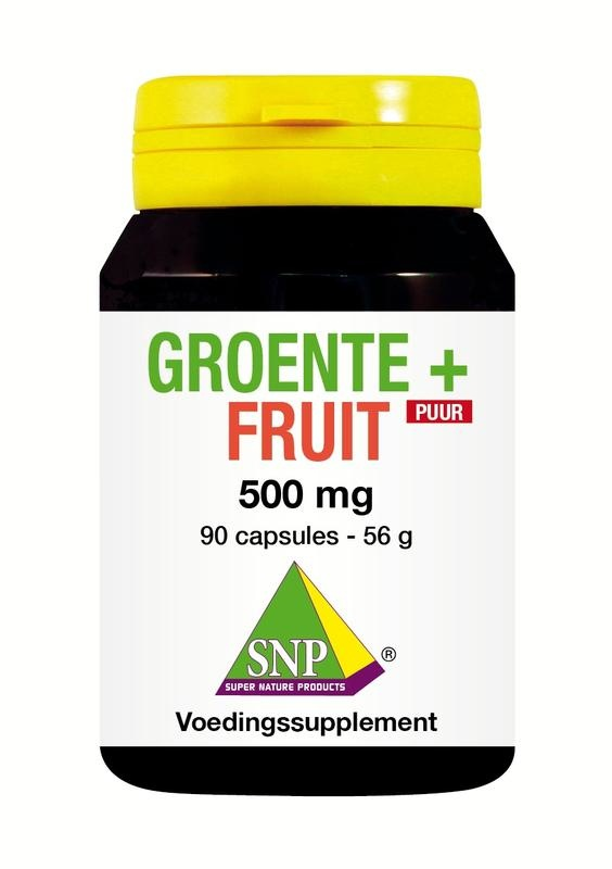 SNP Groente & fruit 500 mg puur (90 capsules)
