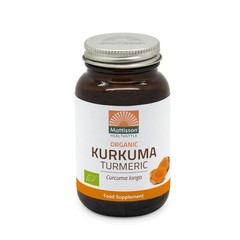 Mattisson Kurkuma turmeric bio (120 vcaps)