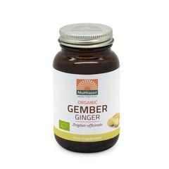 Mattisson Gember Bio (120 vcaps)