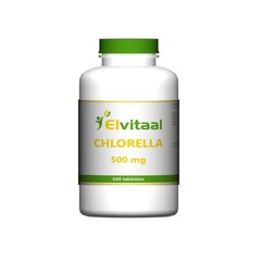 Elvitaal Chlorella 500 mg (600 tabletten)