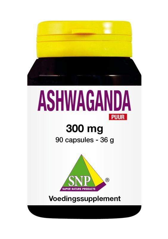 SNP SNP Ashwagandha 300 mg puur (90 capsules)