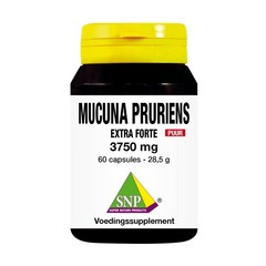 SNP Mucuna pruriens extra forte 3750 mg puur (60 capsules)