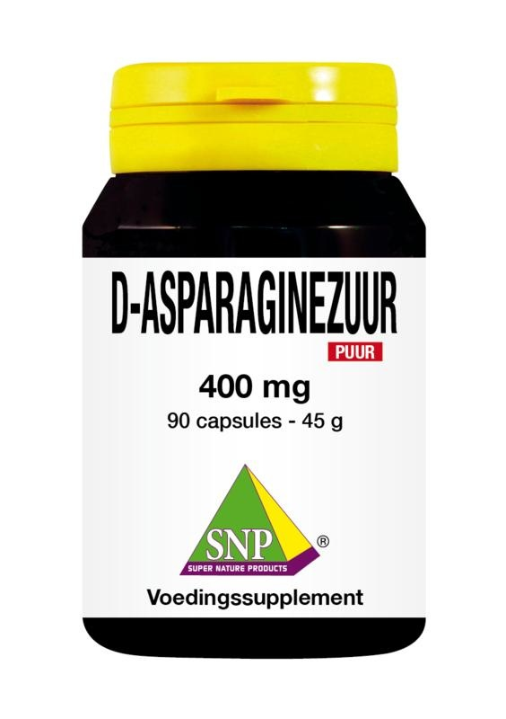 SNP SNP D-Asparaginezuur 400 mg puur (90 capsules)