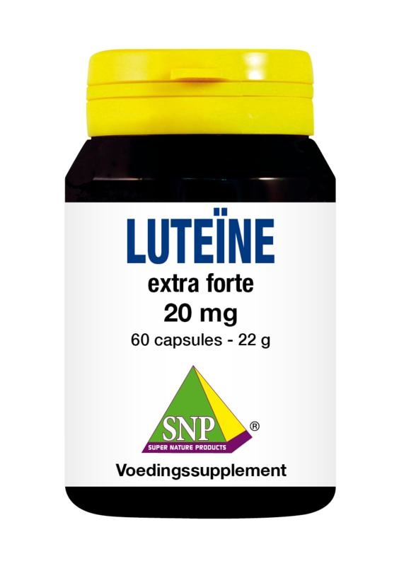 SNP SNP Luteine extra forte 20 mg (60 capsules)