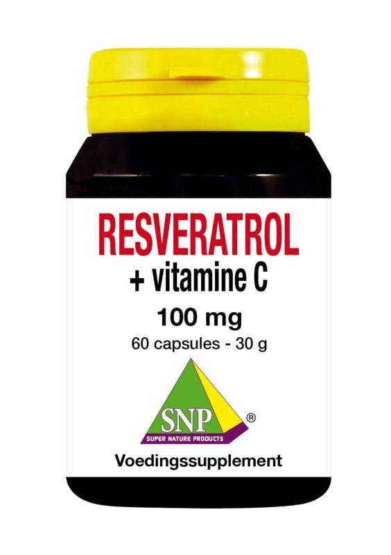SNP SNP Resveratrol + Vitamine C 100 mg (60 capsules)
