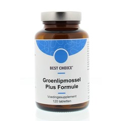 Best Choice Groenlipmossel plus formule (120 tabletten)
