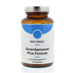Best Choice Groenlipmossel plus formule (60 tabletten)