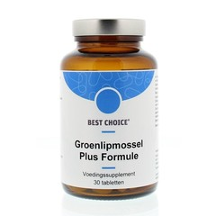 Best Choice Groenlipmossel plus formule (30 tabletten)