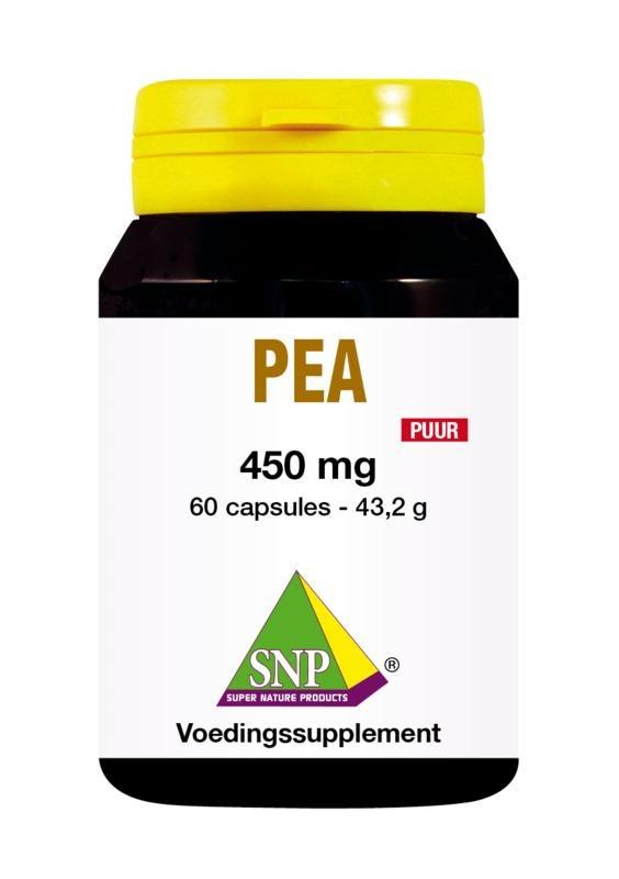 SNP SNP PEA 450 mg puur (60 capsules)