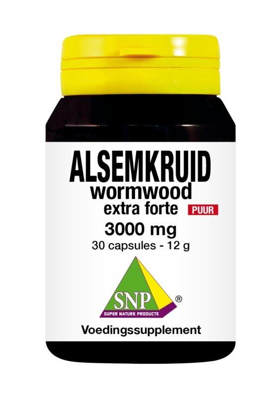 SNP Alsemkruid wormwood 3000 mg puur (30 capsules)