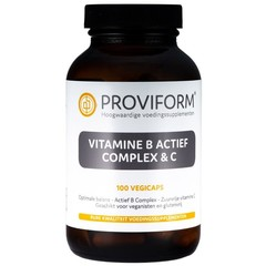 Proviform Vitamine B actief complex & C (100 vcaps)