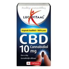 Lucovitaal CBD 10 mg forte (30 capsules)
