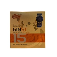 Ilhwa Ginst15 Korean ginseng soft capsules (60 capsules)